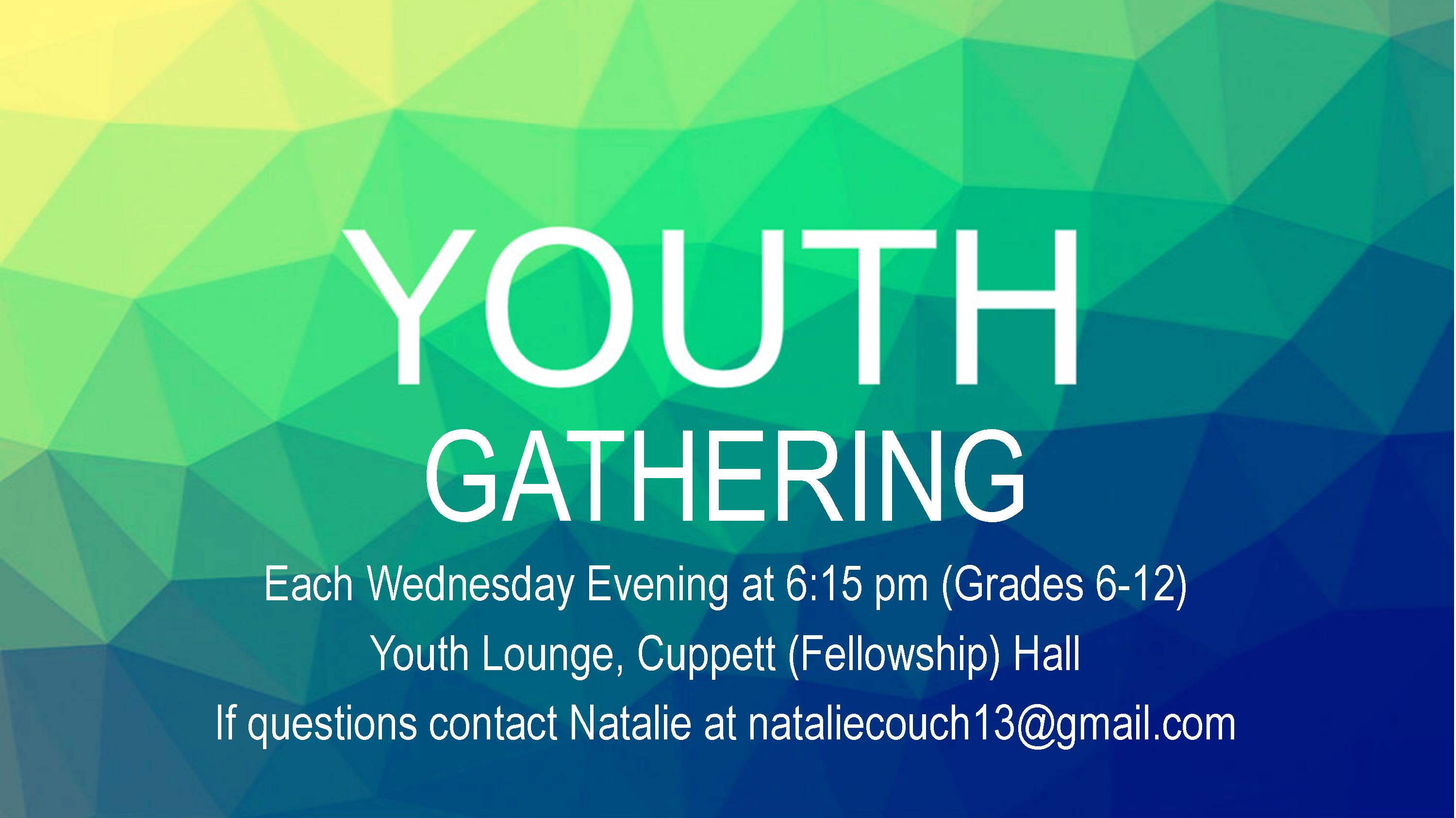 Youth Gathering Worship Slide